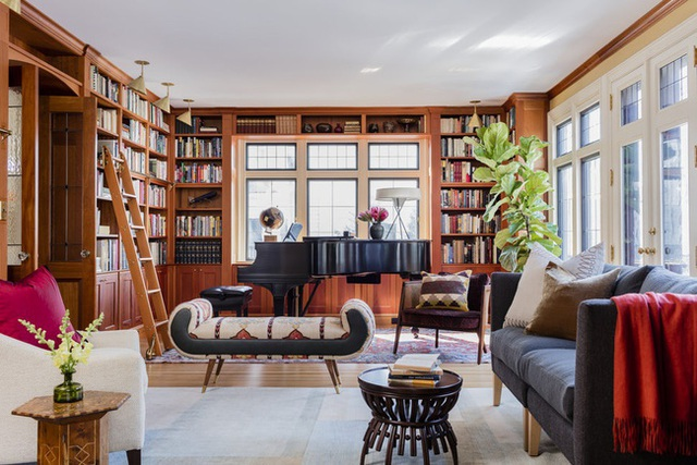 Nâng tầm đẳng cấp không gian sống với lựa chọn tường ốp gỗ - Ảnh 1.