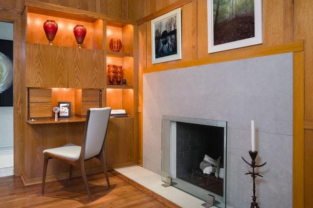 Nâng tầm đẳng cấp không gian sống với lựa chọn tường ốp gỗ - Ảnh 12.