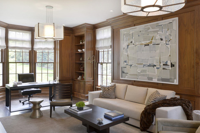 Nâng tầm đẳng cấp không gian sống với lựa chọn tường ốp gỗ - Ảnh 14.