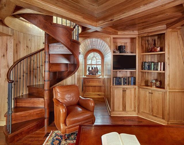 Nâng tầm đẳng cấp không gian sống với lựa chọn tường ốp gỗ - Ảnh 17.