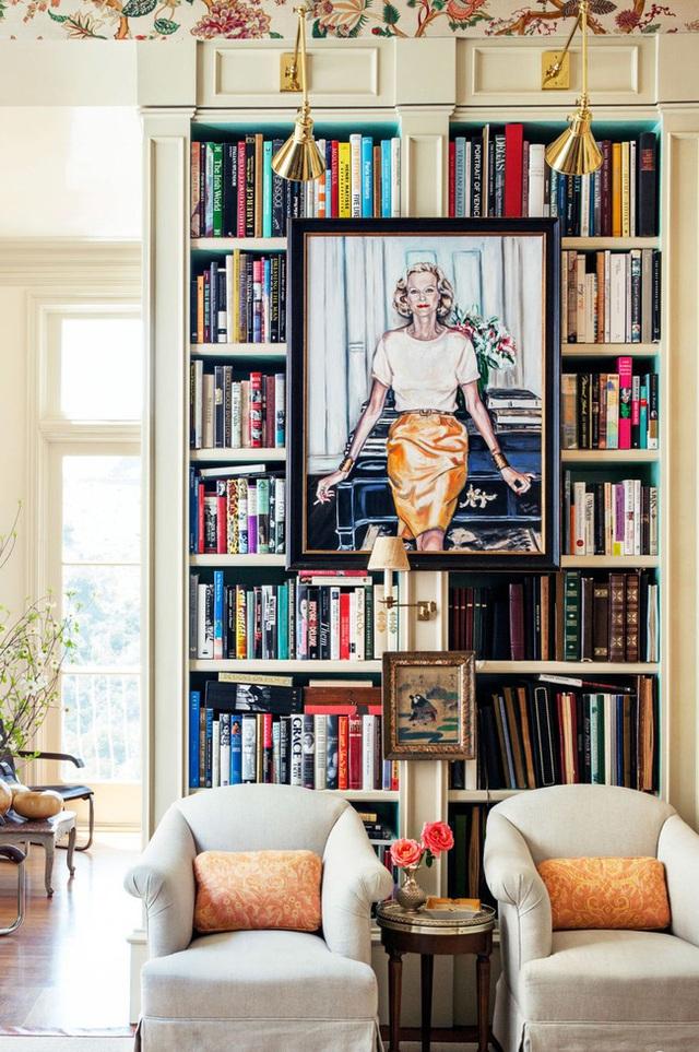 14 ý tưởng trang trí cho giá sách của bạn nổi bần bật trong không gian nhà ở - Ảnh 3.
