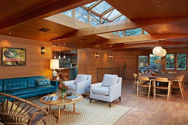 Nâng tầm đẳng cấp không gian sống với lựa chọn tường ốp gỗ - Ảnh 4.