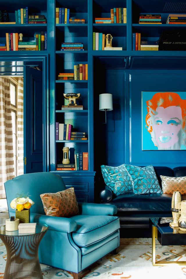 14 ý tưởng trang trí cho giá sách của bạn nổi bần bật trong không gian nhà ở - Ảnh 5.