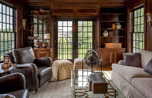 Nâng tầm đẳng cấp không gian sống với lựa chọn tường ốp gỗ - Ảnh 7.