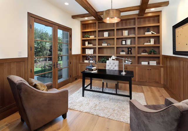 Nâng tầm đẳng cấp không gian sống với lựa chọn tường ốp gỗ - Ảnh 8.