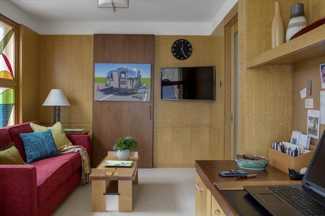 Nâng tầm đẳng cấp không gian sống với lựa chọn tường ốp gỗ - Ảnh 10.
