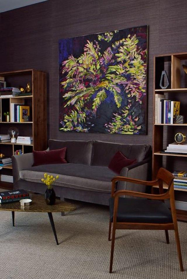 14 ý tưởng trang trí cho giá sách của bạn nổi bần bật trong không gian nhà ở - Ảnh 10.