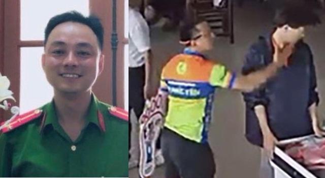 Sự thật thông tin Thượng úy tát nhân viên trạm dừng nghỉ là con lãnh đạo công an tỉnh Thái Nguyên - Ảnh 3.