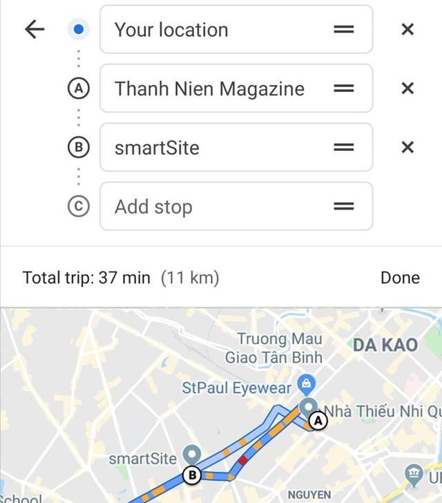 3 tính năng ẩn hữu ích của Google Maps bạn nên biết - Ảnh 3.
