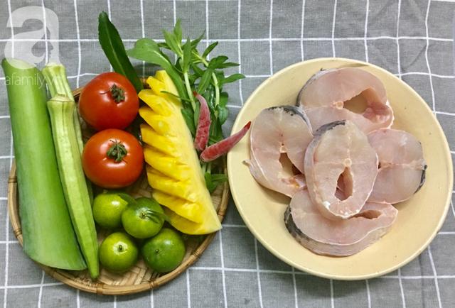 Cách nấu canh chua cá chuẩn vị miền Nam thơm ngon hết cỡ - Ảnh 1.