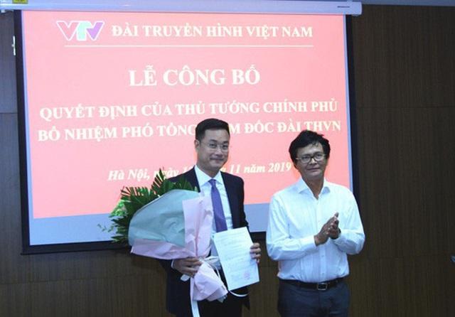 VTV có Phó tổng giám đốc mới - Ảnh 1.
