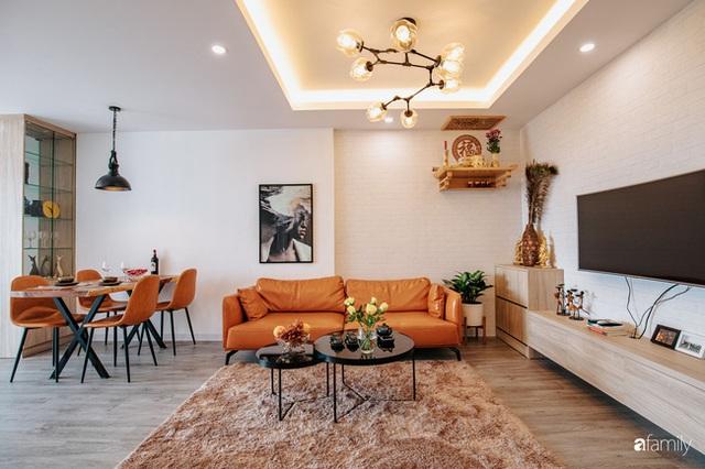 Mua căn hộ 940 triệu, đôi vợ chồng 9x dùng 118 triệu biến không gian sống 67m² thành nơi ở đẹp đến từng chi tiết - Ảnh 1.