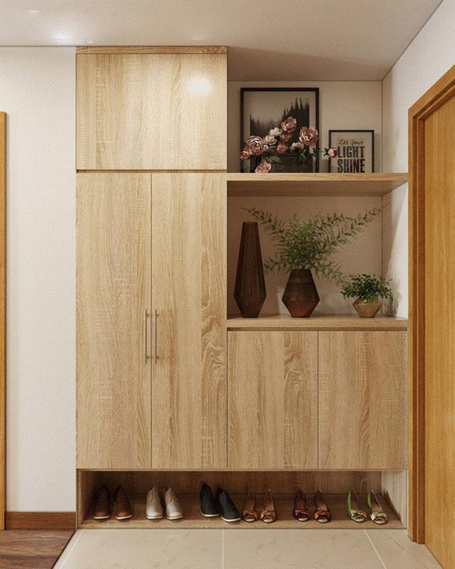 Tư vấn thiết kế căn hộ tập thể 52m² với chi phí 140 triệu đồng - Ảnh 2.
