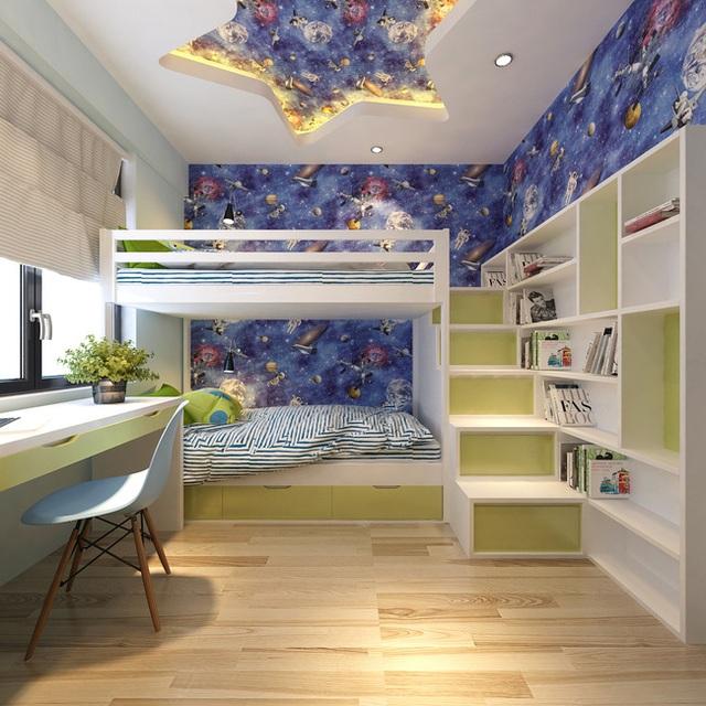 Tư vấn thiết kế căn hộ tập thể 52m² với chi phí 140 triệu đồng - Ảnh 11.