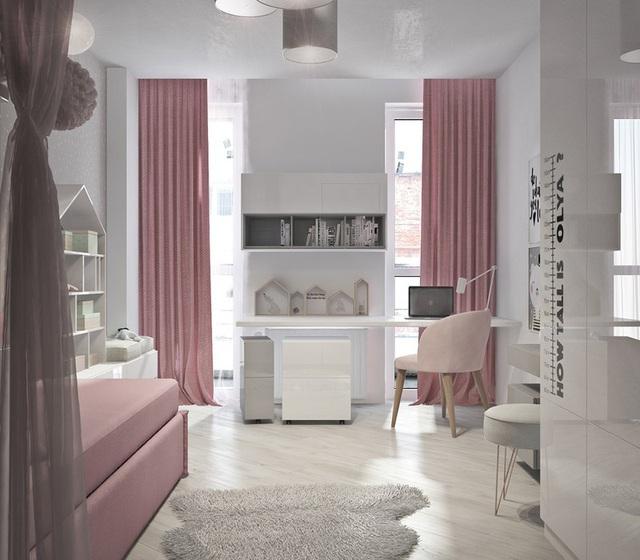 Căn hộ 2 phòng ngủ có sắc màu trung tính sang trọng đáng để học hỏi - Ảnh 12.