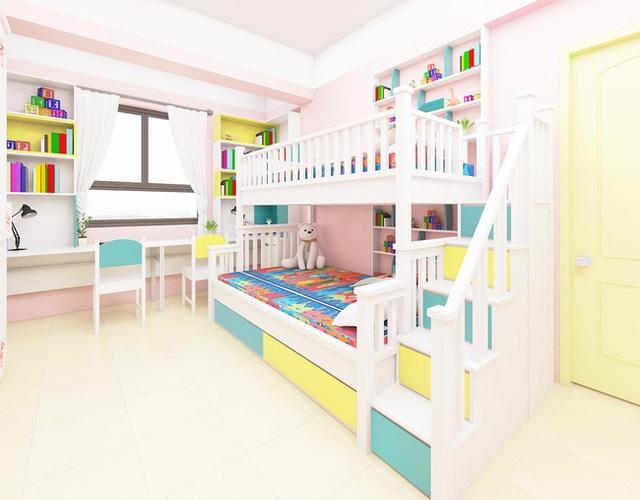Tư vấn thiết kế căn hộ tập thể 52m² với chi phí 140 triệu đồng - Ảnh 12.