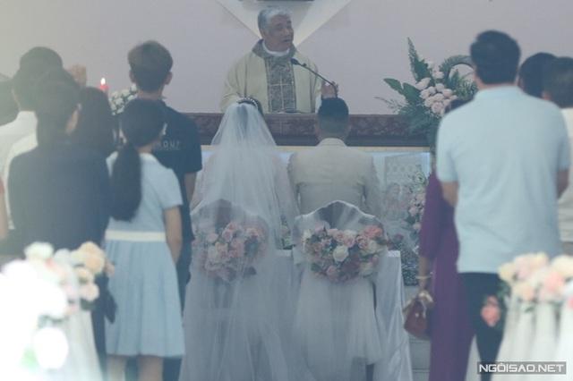 Bảo Thy làm lễ cưới ở nhà thờ - Ảnh 2.