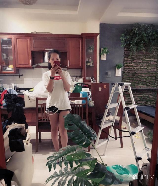 Bà mẹ trẻ Hà Nội biến phòng trọ 22m² thành homestay đẹp hút mắt cho riêng mình với chi phí cải tạo chỉ 5 triệu đồng - Ảnh 3.