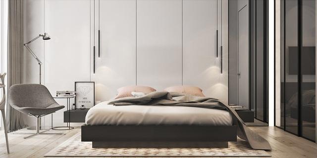Căn hộ 2 phòng ngủ có sắc màu trung tính sang trọng đáng để học hỏi - Ảnh 5.