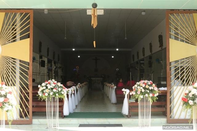 Bảo Thy làm lễ cưới ở nhà thờ - Ảnh 7.