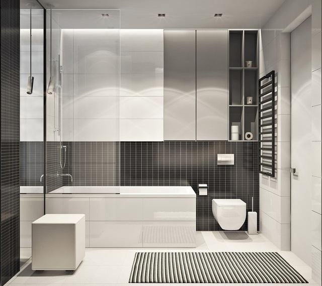Căn hộ 2 phòng ngủ có sắc màu trung tính sang trọng đáng để học hỏi - Ảnh 7.