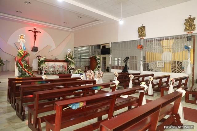 Bảo Thy làm lễ cưới ở nhà thờ - Ảnh 8.