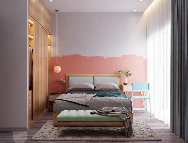 Mẫu phòng ngủ màu hồng được nhiều người ưa thích - Ảnh 9.