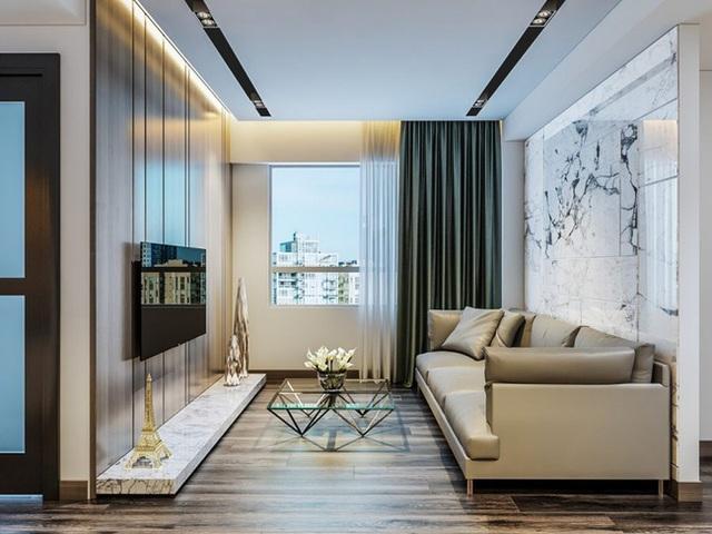 Tư vấn thiết kế căn hộ tập thể 52m² với chi phí 140 triệu đồng - Ảnh 9.