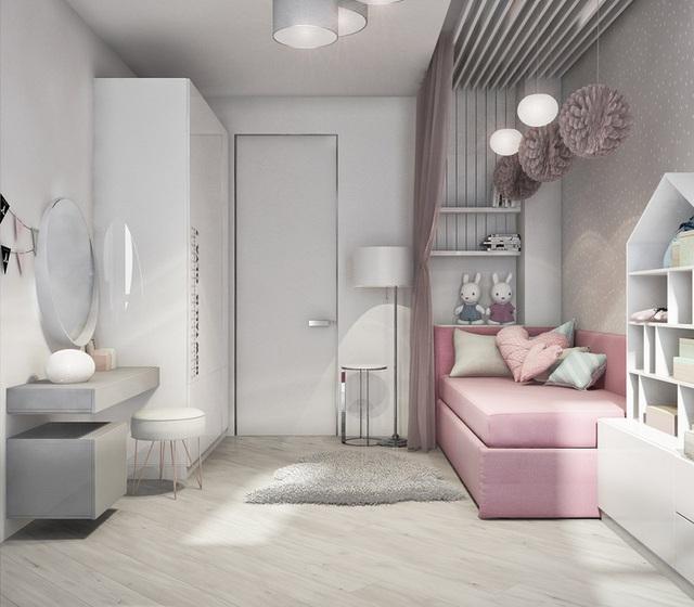 Căn hộ 2 phòng ngủ có sắc màu trung tính sang trọng đáng để học hỏi - Ảnh 10.