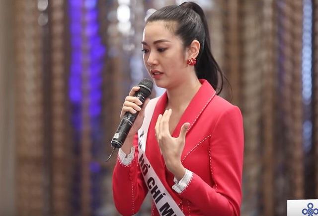 Thanh Hằng chất vấn Thúy Vân: Em muốn thay đổi giám khảo? - Ảnh 2.