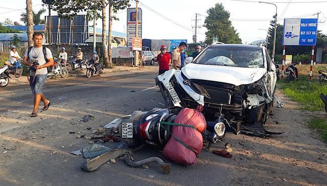 Một người tử vong sau tai nạn liên hoàn - Ảnh 2.