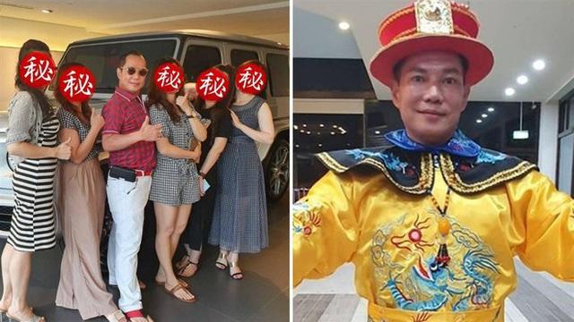 Vua cần cẩu Đài Loan khoe có 4 vợ chung sống hòa thuận - Ảnh 1.
