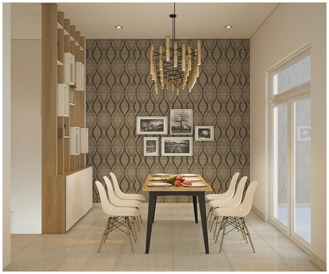 Căn biệt thự mini 3 tầng quá đỗi đáng yêu nhờ cách sắp xếp nội thất - Ảnh 2.