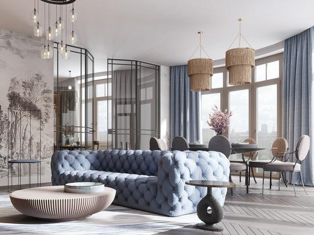 Gia chủ sử dụng toàn nội thất cao cấp để biến căn hộ 100 m2 của mình thành nơi đáng sống - Ảnh 1.
