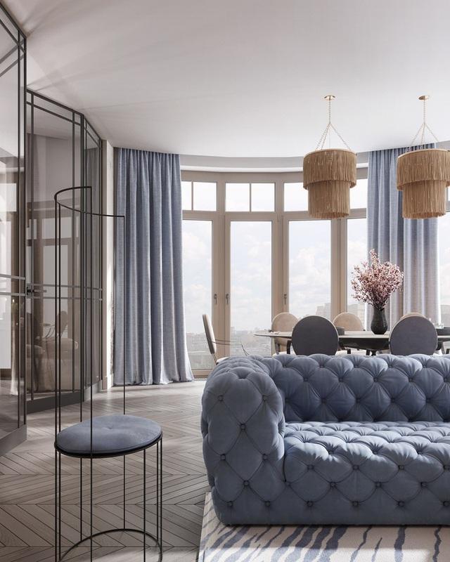 Gia chủ sử dụng toàn nội thất cao cấp để biến căn hộ 100 m2 của mình thành nơi đáng sống - Ảnh 2.