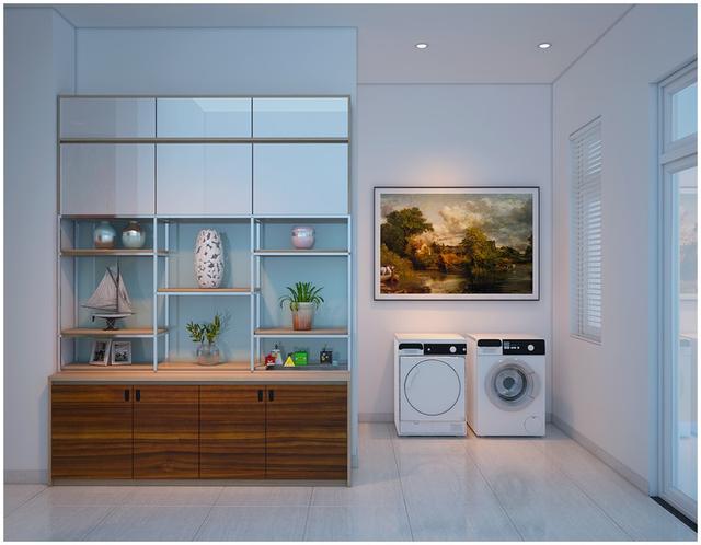 Căn biệt thự mini 3 tầng quá đỗi đáng yêu nhờ cách sắp xếp nội thất - Ảnh 11.