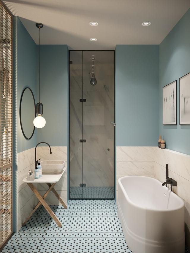 Gia chủ sử dụng toàn nội thất cao cấp để biến căn hộ 100 m2 của mình thành nơi đáng sống - Ảnh 11.