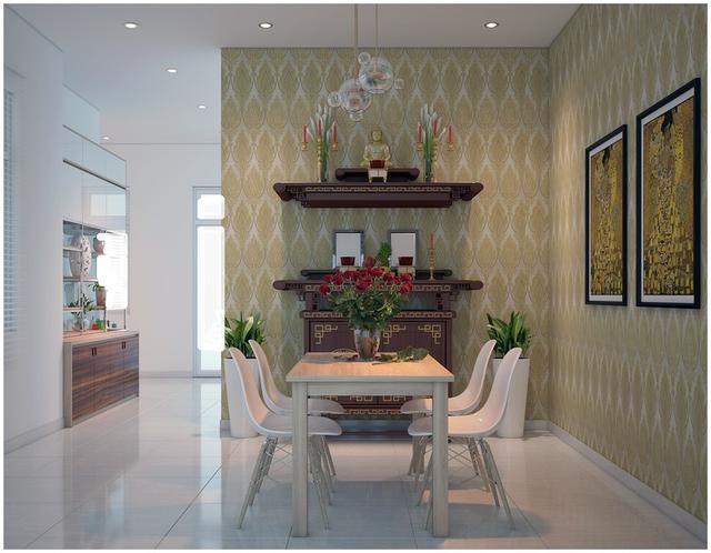Căn biệt thự mini 3 tầng quá đỗi đáng yêu nhờ cách sắp xếp nội thất - Ảnh 12.