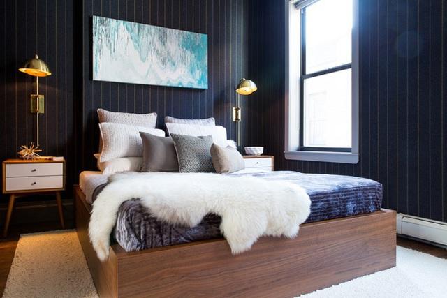 Biến phòng ngủ thành nơi vừa đẹp vừa ấm áp khi đông sang - Ảnh 13.