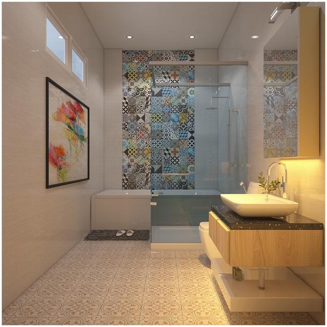 Căn biệt thự mini 3 tầng quá đỗi đáng yêu nhờ cách sắp xếp nội thất - Ảnh 14.