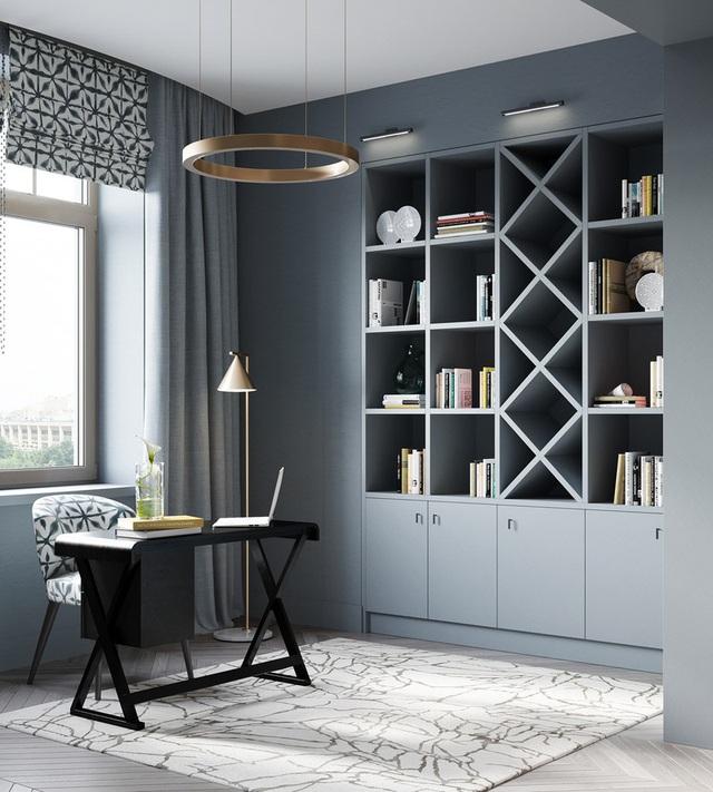 Gia chủ sử dụng toàn nội thất cao cấp để biến căn hộ 100 m2 của mình thành nơi đáng sống - Ảnh 14.