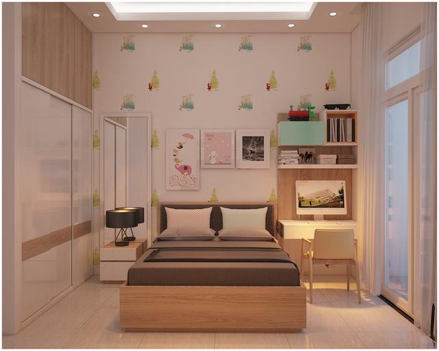 Căn biệt thự mini 3 tầng quá đỗi đáng yêu nhờ cách sắp xếp nội thất - Ảnh 4.