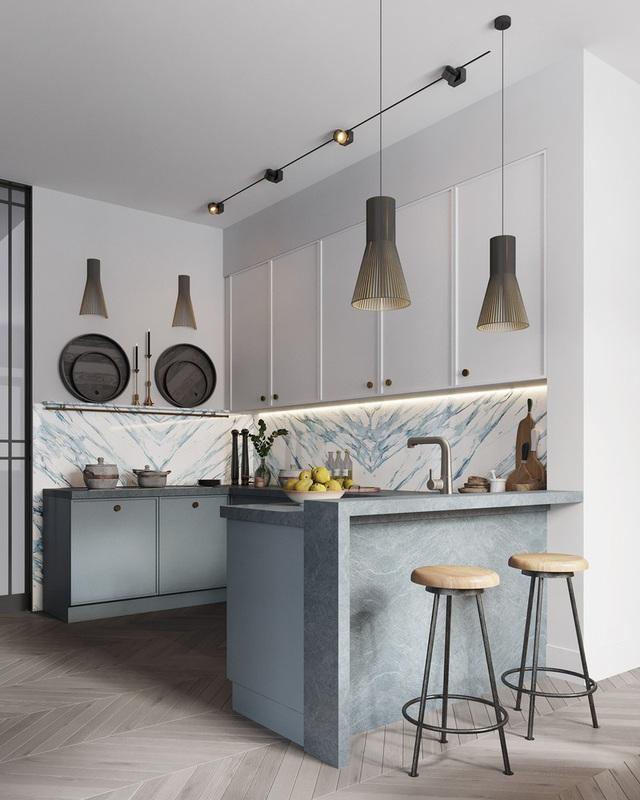 Gia chủ sử dụng toàn nội thất cao cấp để biến căn hộ 100 m2 của mình thành nơi đáng sống - Ảnh 4.