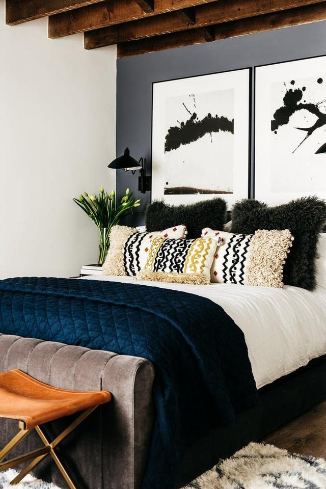 Biến phòng ngủ thành nơi vừa đẹp vừa ấm áp khi đông sang - Ảnh 4.