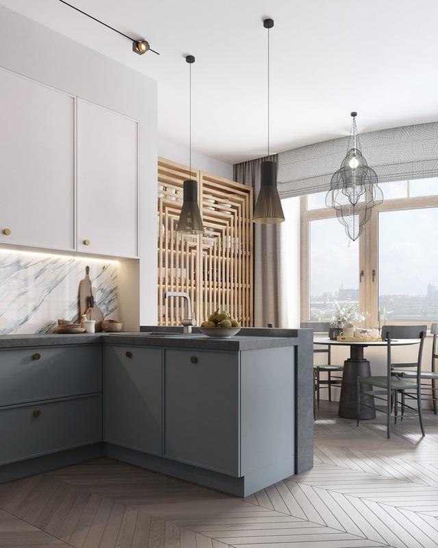 Gia chủ sử dụng toàn nội thất cao cấp để biến căn hộ 100 m2 của mình thành nơi đáng sống - Ảnh 5.