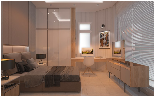 Căn biệt thự mini 3 tầng quá đỗi đáng yêu nhờ cách sắp xếp nội thất - Ảnh 7.