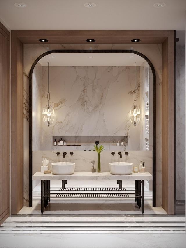 Gia chủ sử dụng toàn nội thất cao cấp để biến căn hộ 100 m2 của mình thành nơi đáng sống - Ảnh 7.