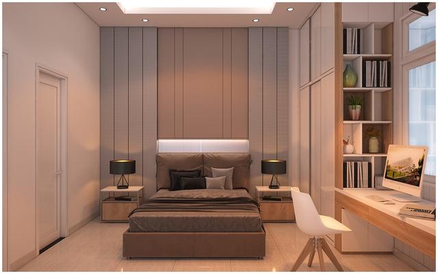 Căn biệt thự mini 3 tầng quá đỗi đáng yêu nhờ cách sắp xếp nội thất - Ảnh 8.