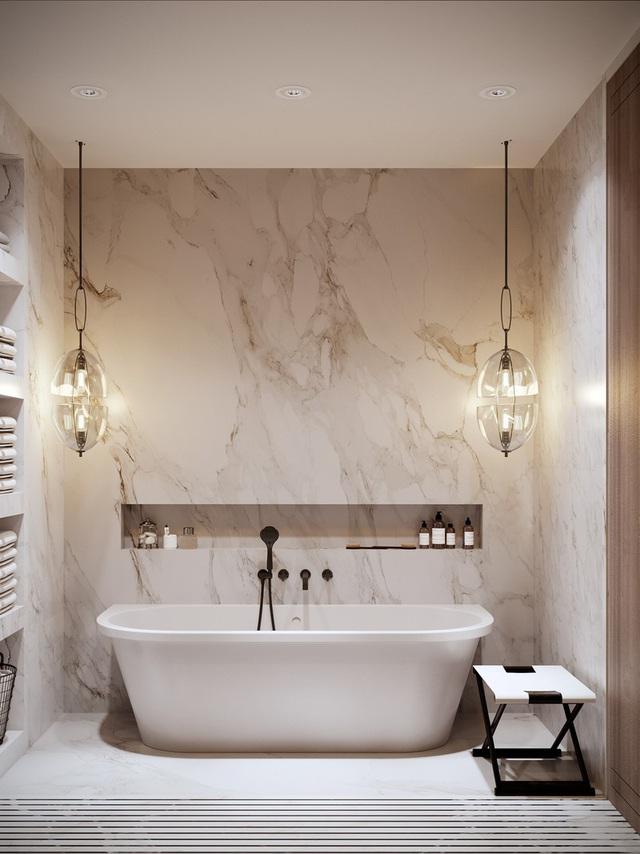 Gia chủ sử dụng toàn nội thất cao cấp để biến căn hộ 100 m2 của mình thành nơi đáng sống - Ảnh 8.