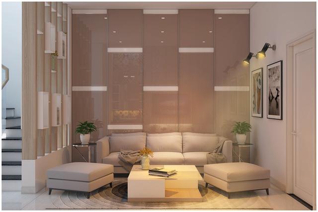 Căn biệt thự mini 3 tầng quá đỗi đáng yêu nhờ cách sắp xếp nội thất - Ảnh 9.